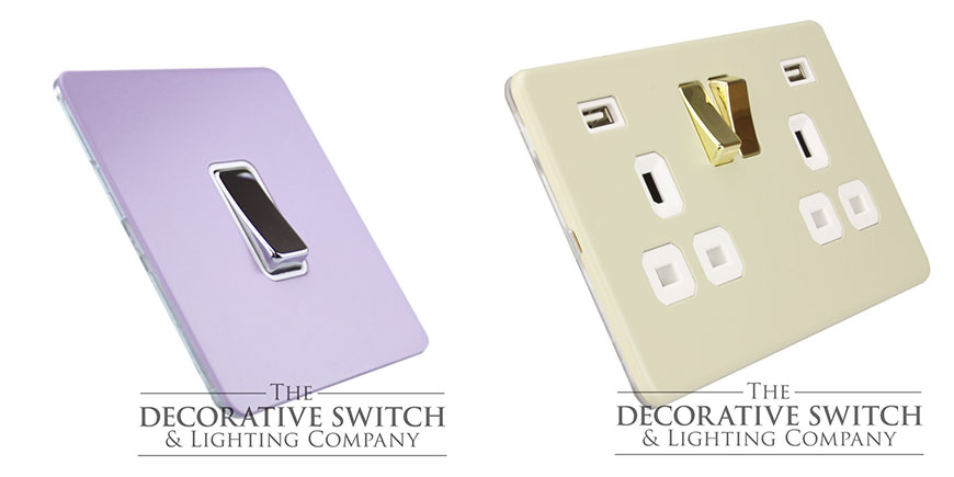 Custom Coloured Switches and Sockets