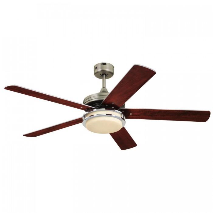 High Resolution Quality Ceiling Fans 5 Chrome Ceiling Fan: Westinghouse 78014 Hercules Supreme Ceiling Fan, 132 Cm