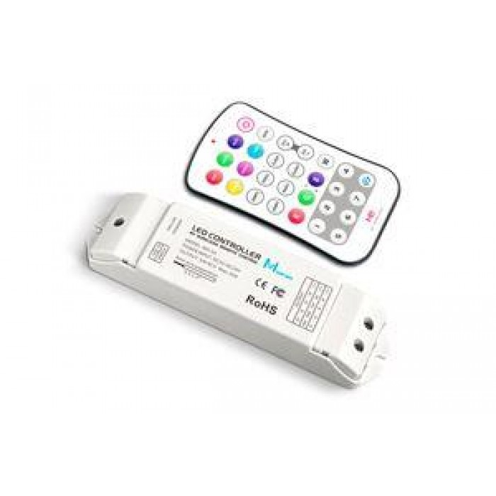 Integral Led Ilrc008 Rf Wireless Rgbw Receiver With Button