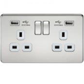 knightsbridge-screwless-13a-2g-switched-socket-with-dual-usb-charger-polished-chrome-with-white-insert