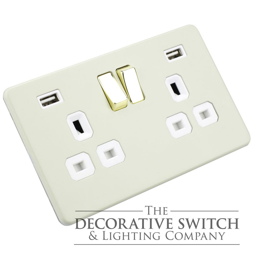Farrow Ball USB Socket