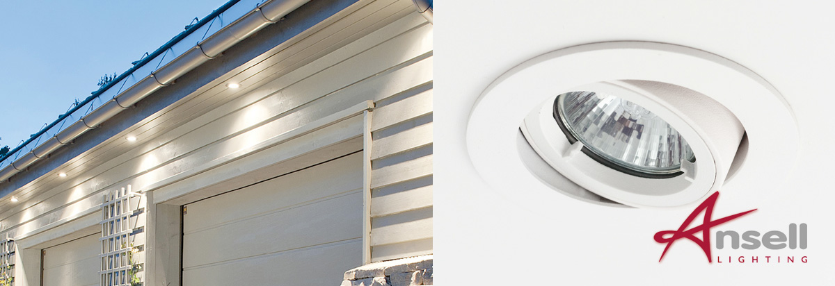 Outdoor Adjustable Soffit Lights