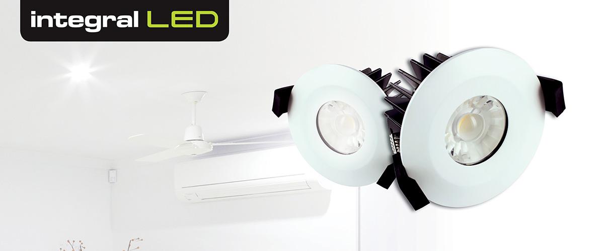 Integral LED Low Profile IP65 Downlights