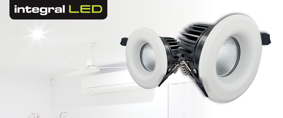 Integral LED Luxury Fixed IP65 Downlights