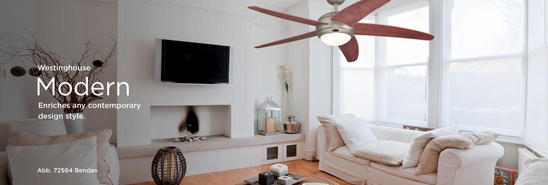 Ceiling Fans - Modern