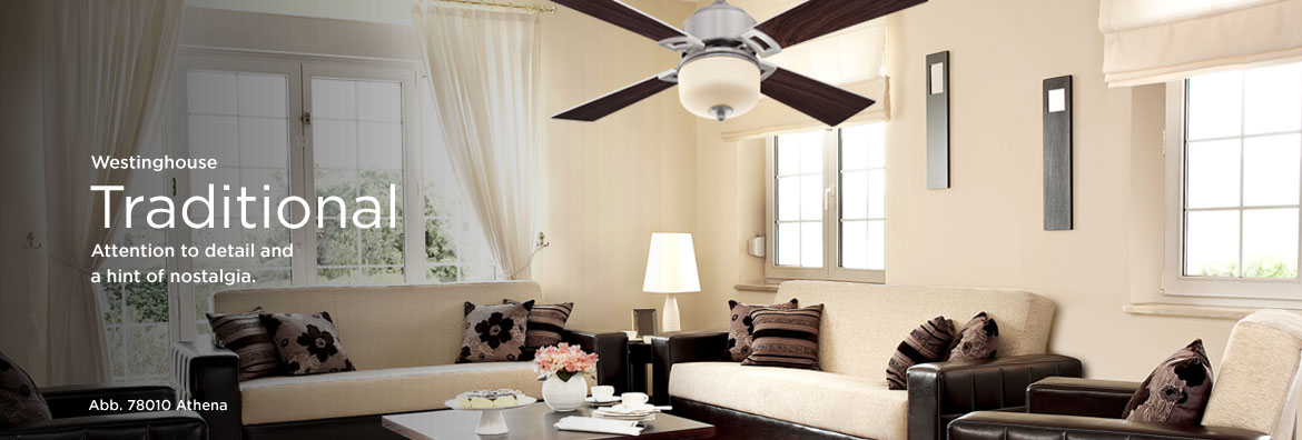 Ceiling Fans - Traditional
