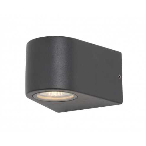 ZINC SETH LED, Down Shining, Wall Fitting Anthracite