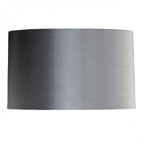 Luis Collection LUI/LS1023 Dark Silver 38cm Cylinder Shade