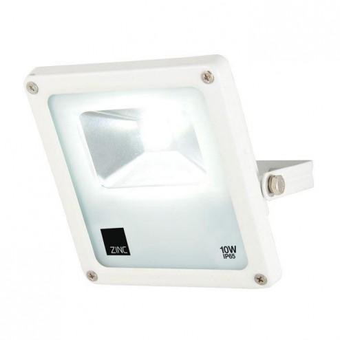 ZINC ZN-25989-WHT LEAR 10w Slimline LED Floodlight
