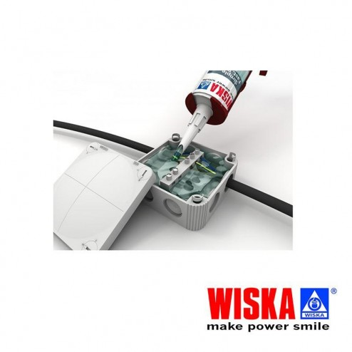 Wiska OneGEL Wiska OneGEL Waterproof Silicone Sealant for Outdoor Cable Junction Box Transparent