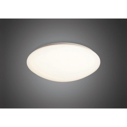 Mantra M3672 Zero Ceiling/Wall 12W LED Small 3000K, White Acrylic