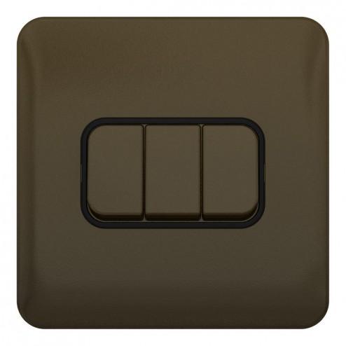 Schneider Lisse Deco  10AX 3G 2W Switch BMB