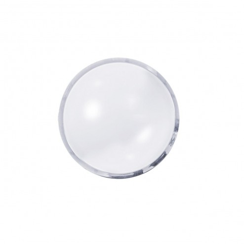 Integral LED ILBHE026 16W Bulkhead Light w/ILBHEA035 Polished Chrome Trim/Ring for 300mm Value+ Ceiling and Wall Light.