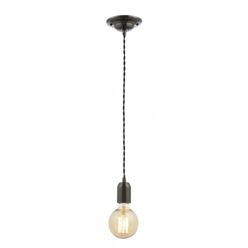 INLIGHT Decorative Cable Set Decorative Cable Set - Black Twist  Black Nickel