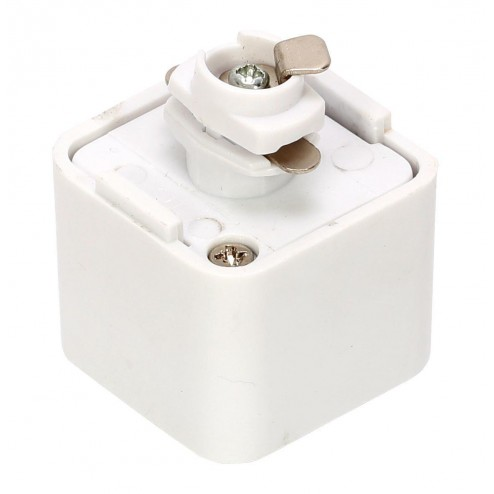 CULINA TRACK ADAPTER 240V, Single Circuit - White White