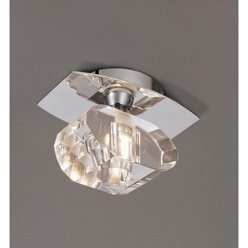 Mantra M0422 Alfa Ceiling 1 Light G9, Polished Chrome