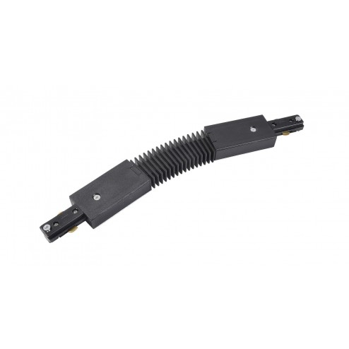 CULINA CONNECTOR WITH BEND 240V, Single Circuit - Black Black