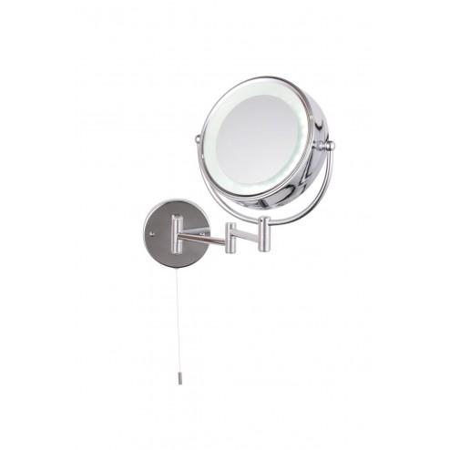 SPA APUS  LED, Circular Magnifying Mirror Chrome & Mirrored Glass