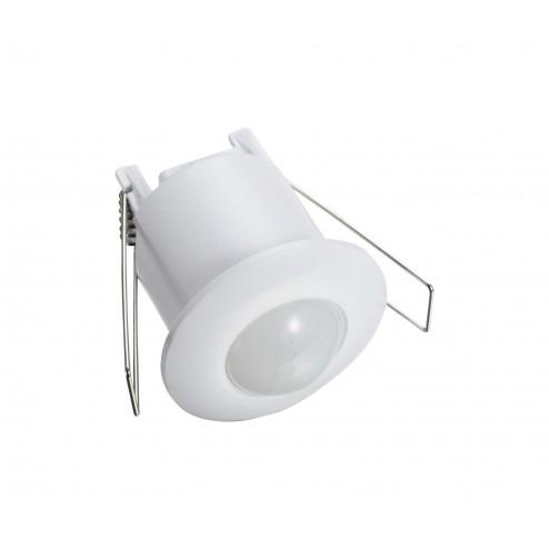 ZINC THEBE 360 Degree Recess Mount PIR Sensor White