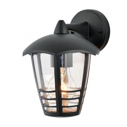 ZINC Perdita Perdita Aluminium 6-sided Lantern Black