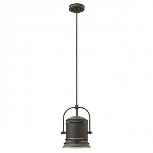 Hinkley Lighting HK/PULLMAN/M OZ Pullman 1lt Pendant Oil Rubbed Bronze