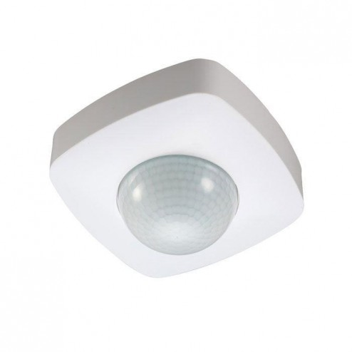 ZINC ZN-29177-WHT  Square 360 Degree Surface Mount PIR With 3 Sensors