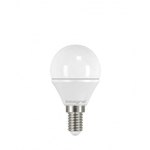 Integral LED Mini Globe E14 Non-Dimmable Frosted Lamp with 2 Years Warranty