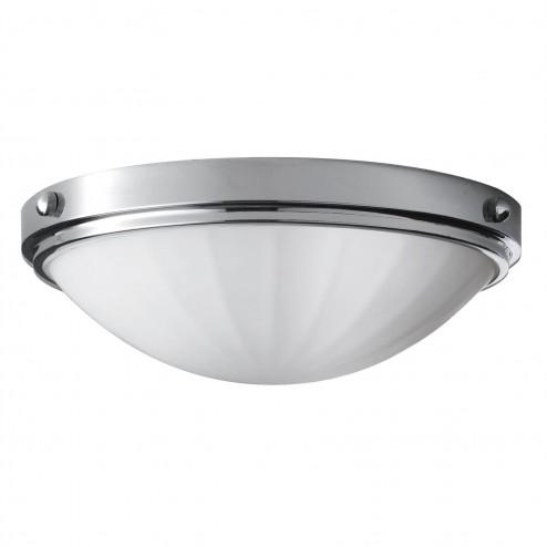Feiss FE/PERRY/F BATH Perry Flush Mount circular flush ceiling light