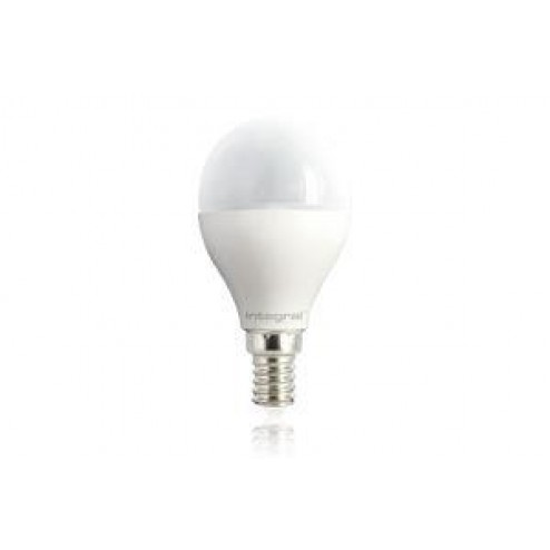Integral LED ILP45E14O6.5D27KBEWA Mini Globe E14 Dimmable Frosted Lamp with 2 Years Warranty