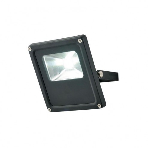ZINC HERA New 10w Slimline LED Floodlight Black