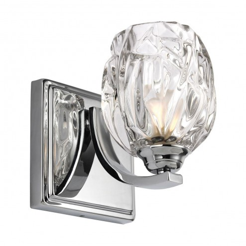 Feiss FE/KALLI1 BATH Kalli 1 Light Bathroom Wall Light In Polished Chrome