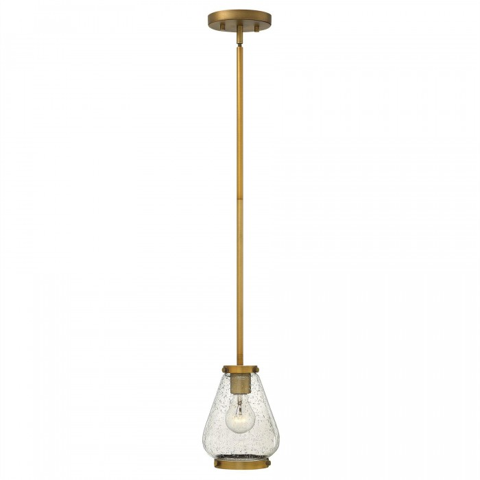 Hinkley Lighting Hk Finley P Br Mini Pendant Brushed Bronze