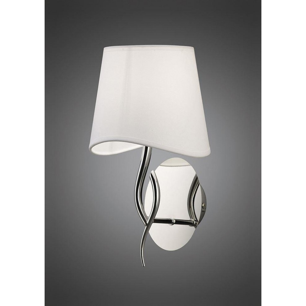 Mantra M1904 S Ninette Wall Lamp Switched 1 Light E14 e840db10962