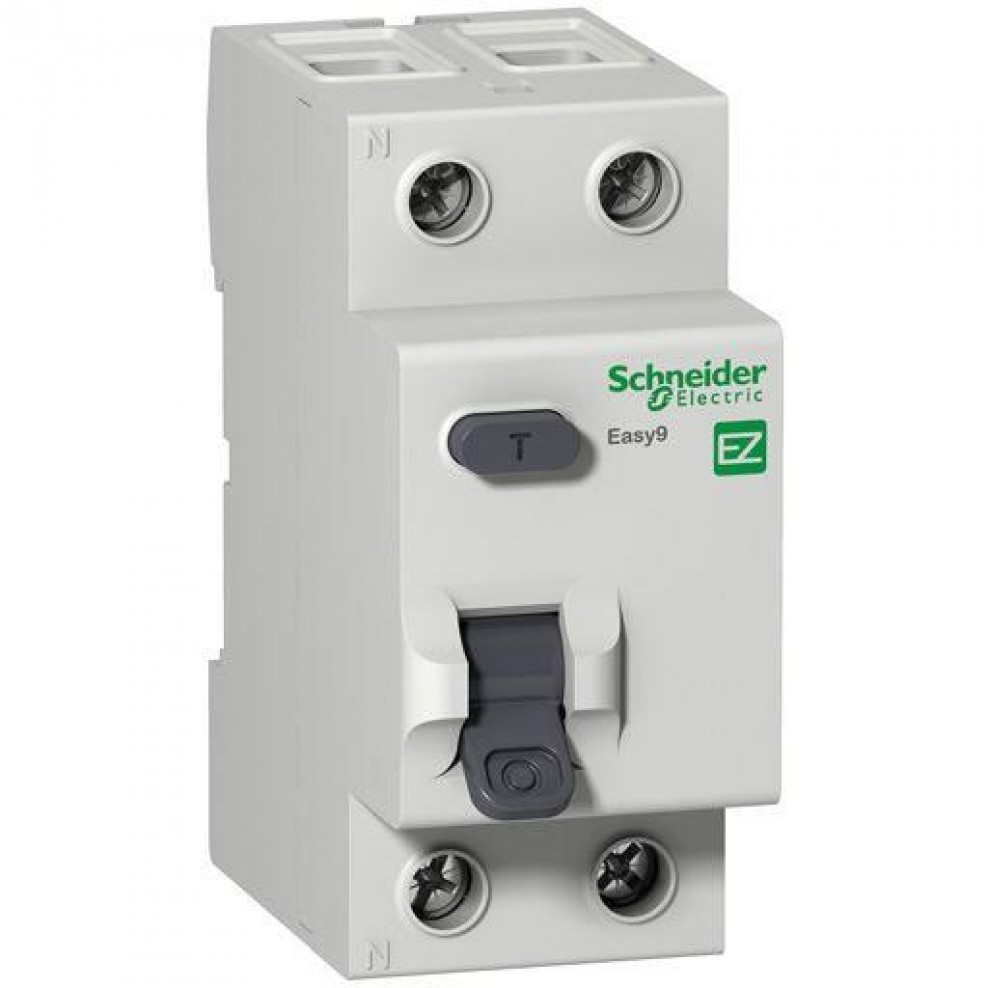 Schneider Electric Easy9 Incomer RCCB Residual Current Circuit ...