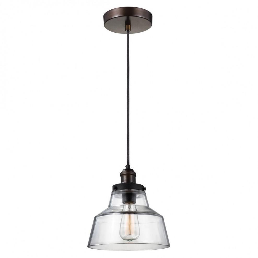 Feiss Fe Baskin P A Br 1 Light Large Ceiling Pendant In