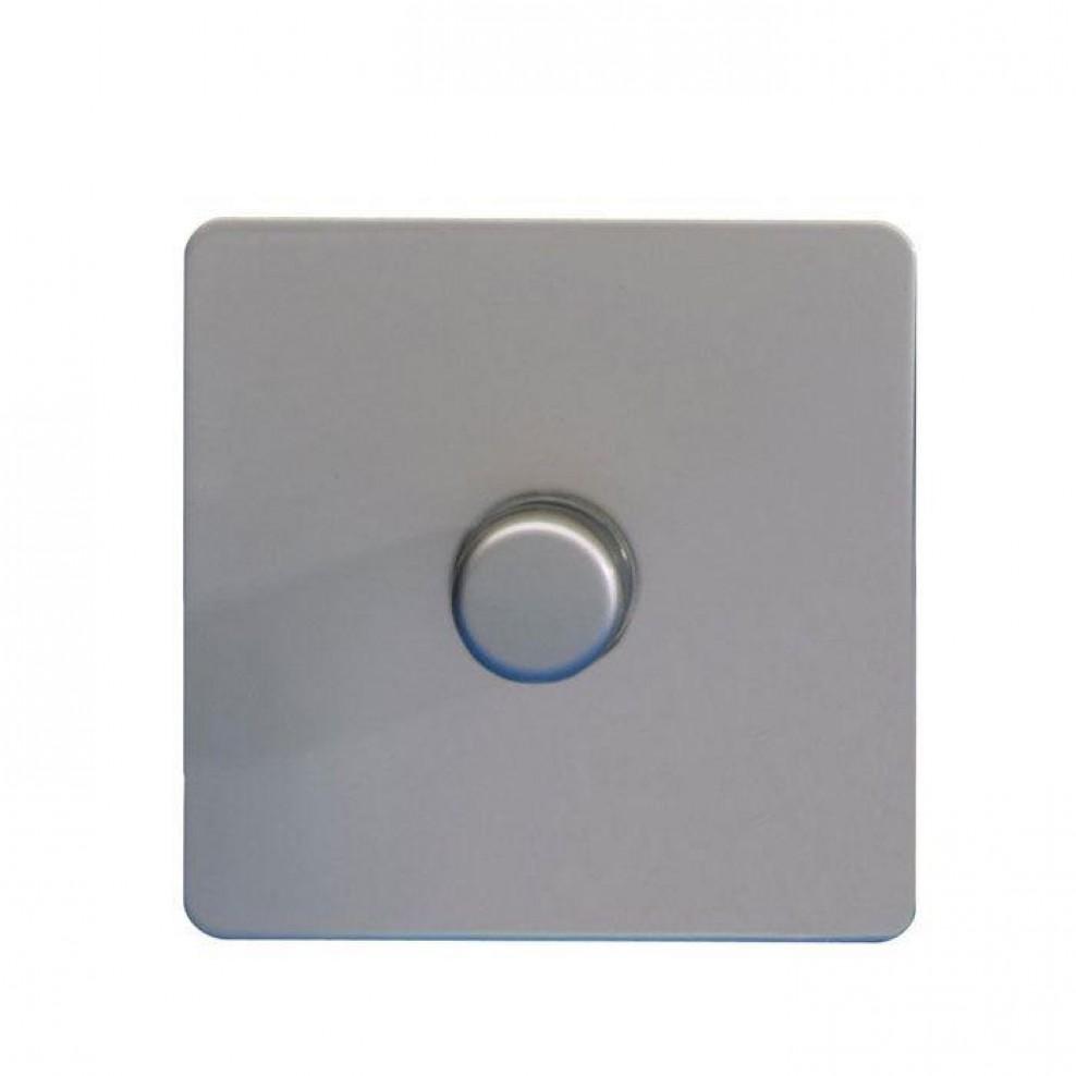 Gu6412lpn Schneider Ultimate Screwless 1 Gang 2 Way 100w Led Dimmer Light Switch Pearl Nickel
