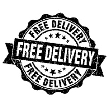 Free delivery on orders over £150